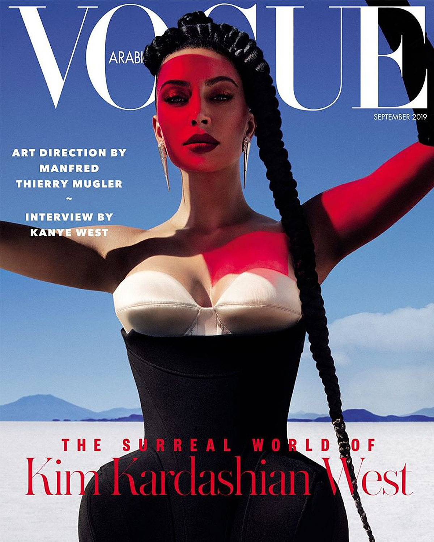 Kim Kardashian West Vogue Arabia Cover