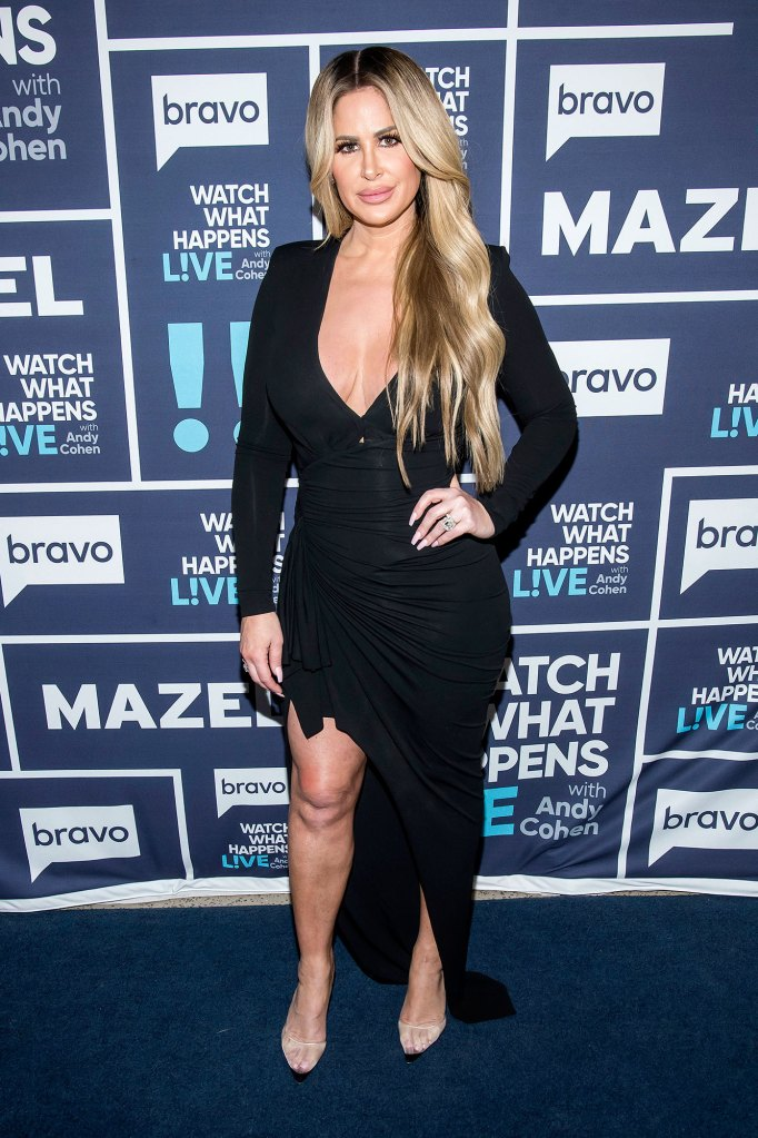 Kim Zolciak Black Dress Plane Incident