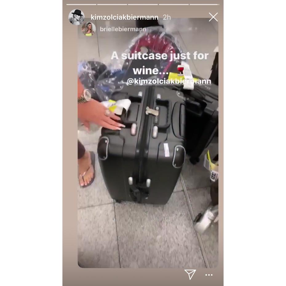 Kim-Zolciak-wine-suitcase