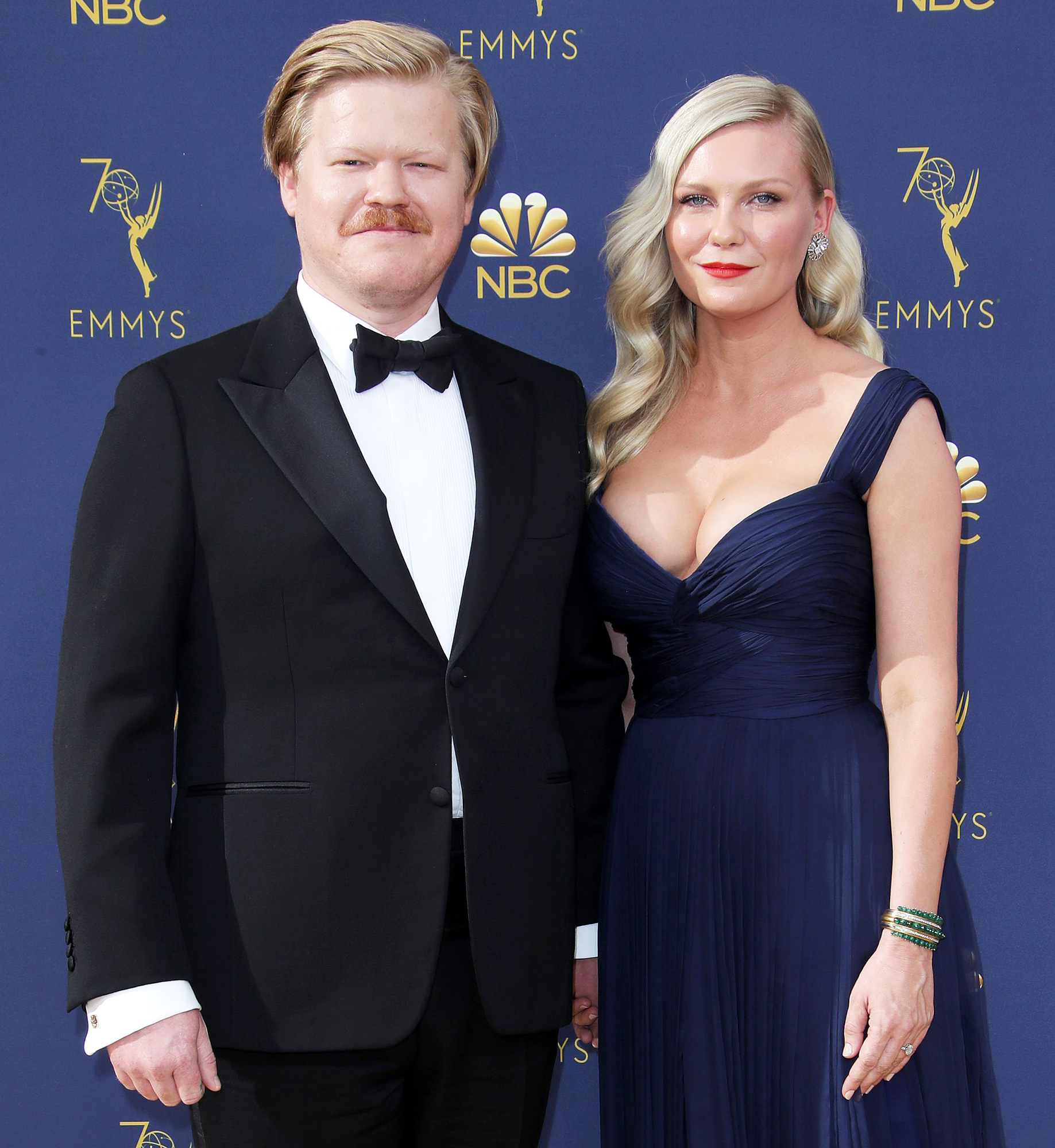 Jesse Plemons and Kirsten Dunst Attend the Emmy Awards in 2018 Admit Pregnancy With Jesse Plemons Was a Surprise in Porter Edit