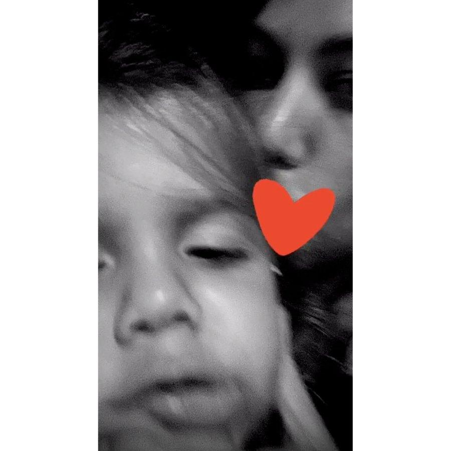 Kourtney Kardashian European Family Vacation Reign Disick Selfie