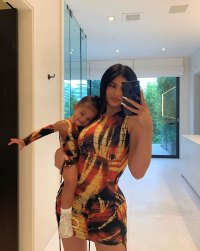 Kylie Jenner and Stormi Instagram Selfie Matching Outfit