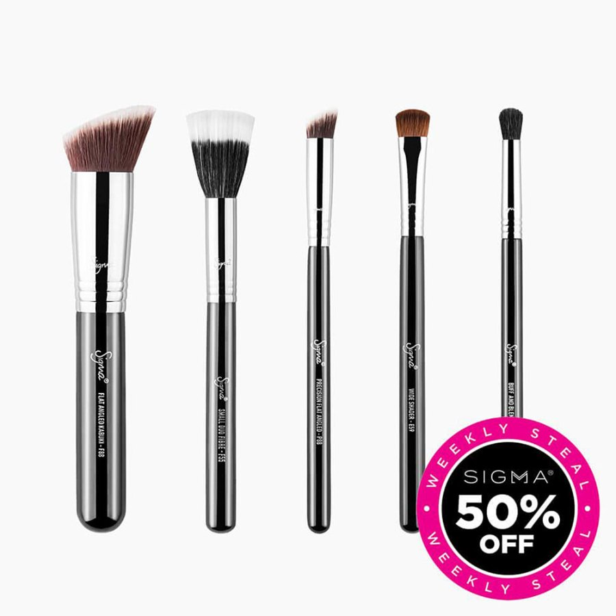 Labor Day Weekend Beauty Sales - Sigma Beauty Full Face Brush Set