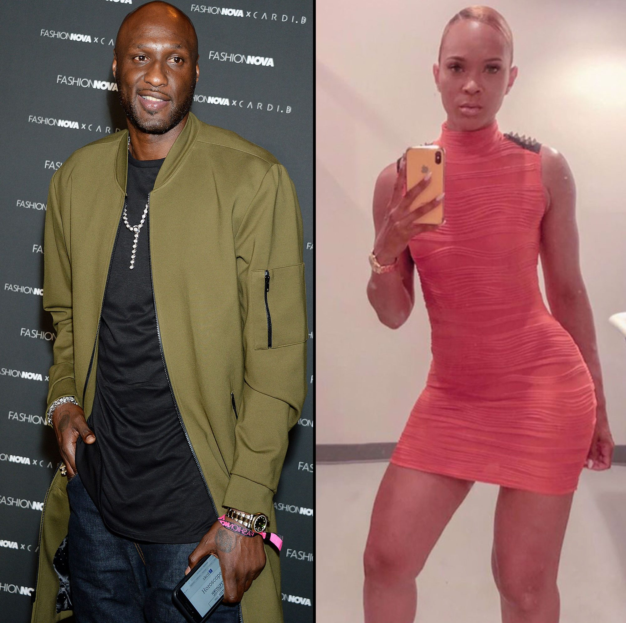 Khloes previous marriage with basketball player Lamar Odom came to an end is spotted out and about in New York City, New York on.
