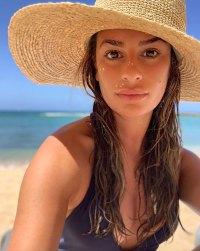 Lea Michele Bikini Instagram August 18, 2019