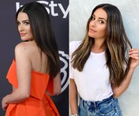 Lea Michele Hair Change Blonde Highlights