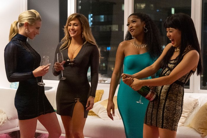 Lili Reinhart, Jennifer Lopez, Keke Palmer, and Constance Wu In Hustlers Jennifer Lopez Natural Learning Pole Dancing for 'Hustlers'