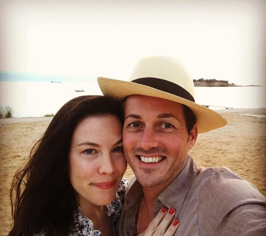 Liv Tyler and David Gardner Instagram Selfie