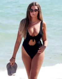 Love Island Stars in Bikinis and Swimsuits