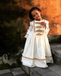 Luna in Princess Dresses August 2019