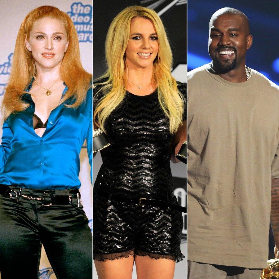 MTV Video Vanguard Winners Through the Years