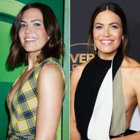 Mandy Moore Hair Change Highlights