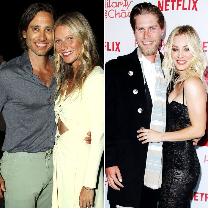 Married Couples Who Don't Live Together Gwyneth Paltrow Kaley Cuoco
