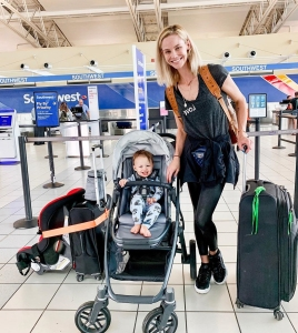 Meghan King Edmonds Takes Son Hart to California