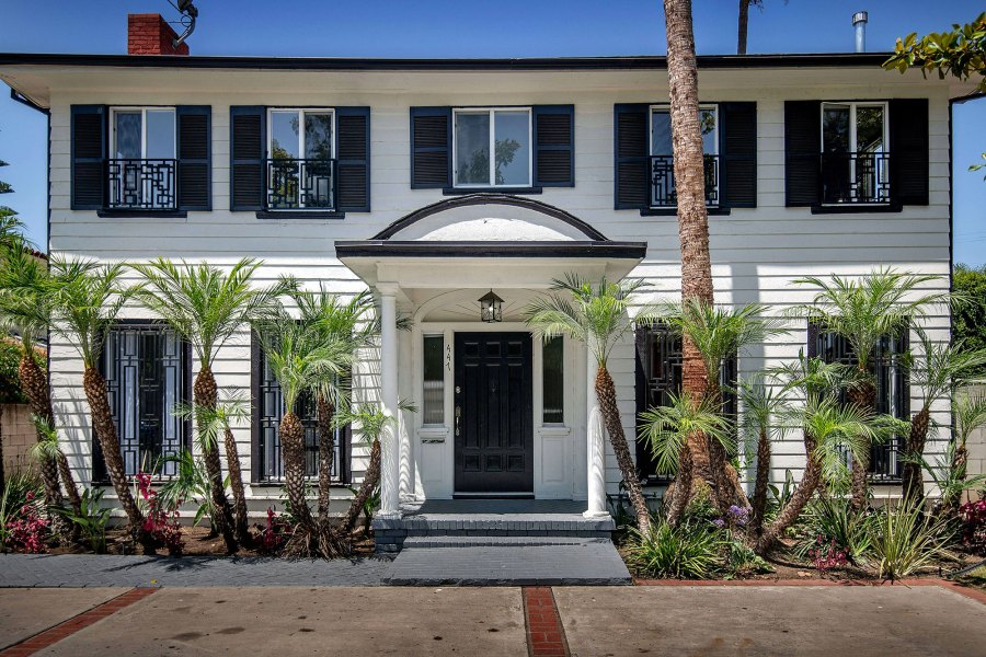 Meghan Markle Los Angeles Home For Sale Real Estate Exterior