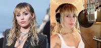 Miley Cyrus Makeup Free Seflie Instagram