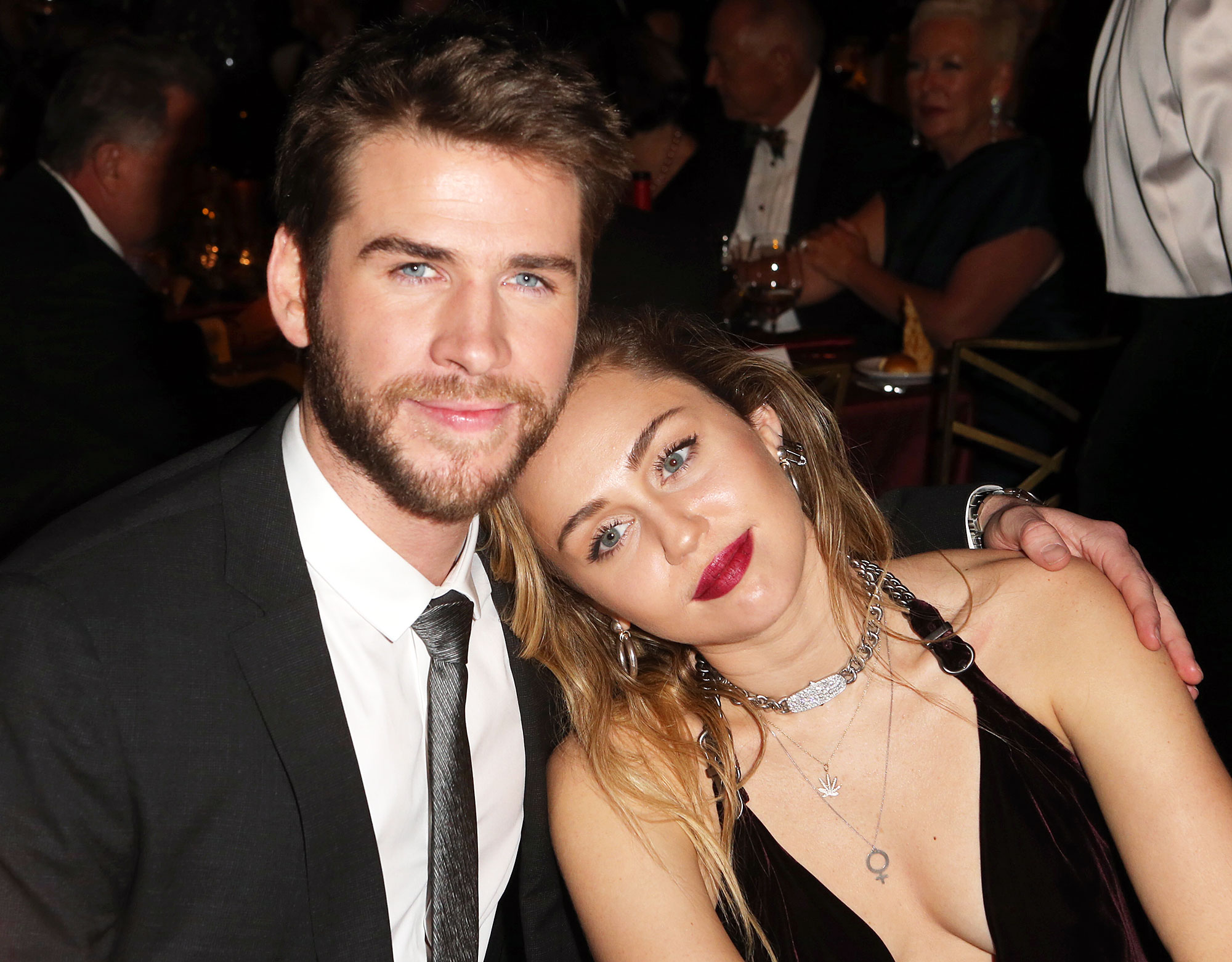 Miley Cyrus With Her head on Liam Hemsworth's Shoulder Wanted Her Marriage to Liam Hemsworth to Work More Than Anything