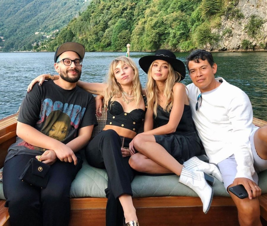 Kaitlynn Carter Vacations With Miley Cyrus