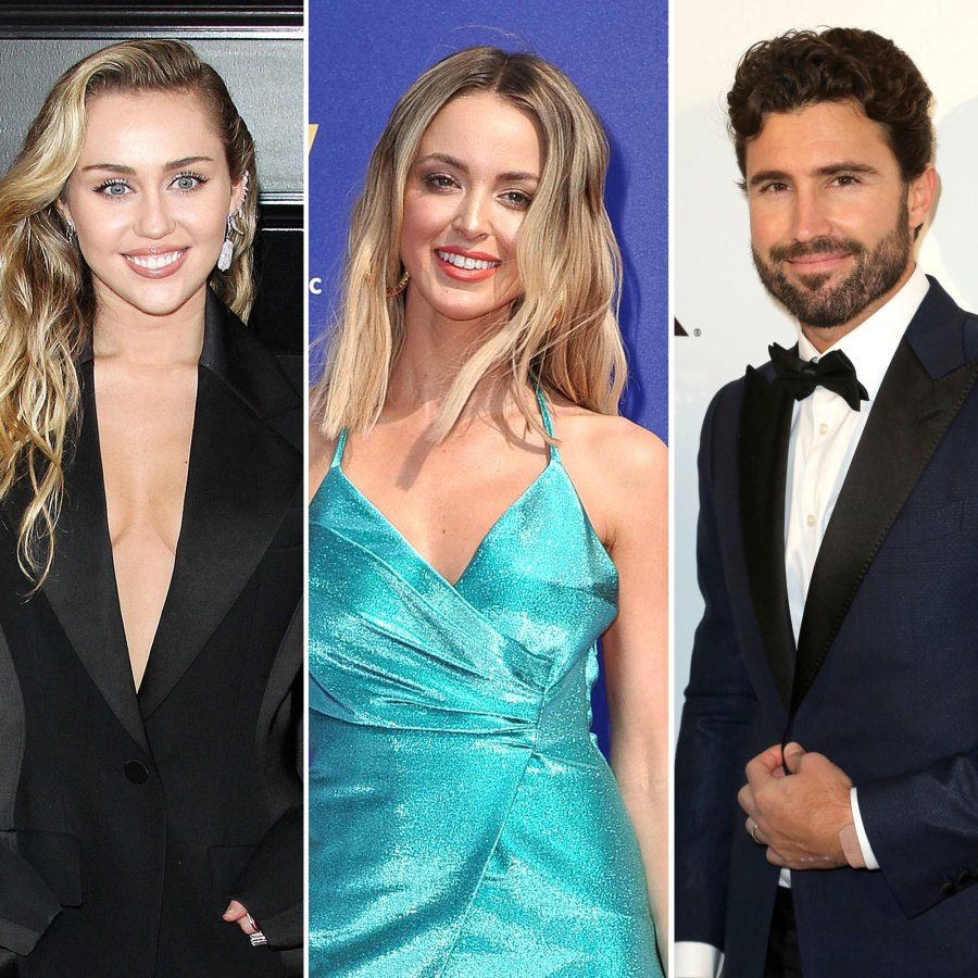 Miley Cyrus and Kaitlynn Carter Send Weed Bouquet to Brody Jenner