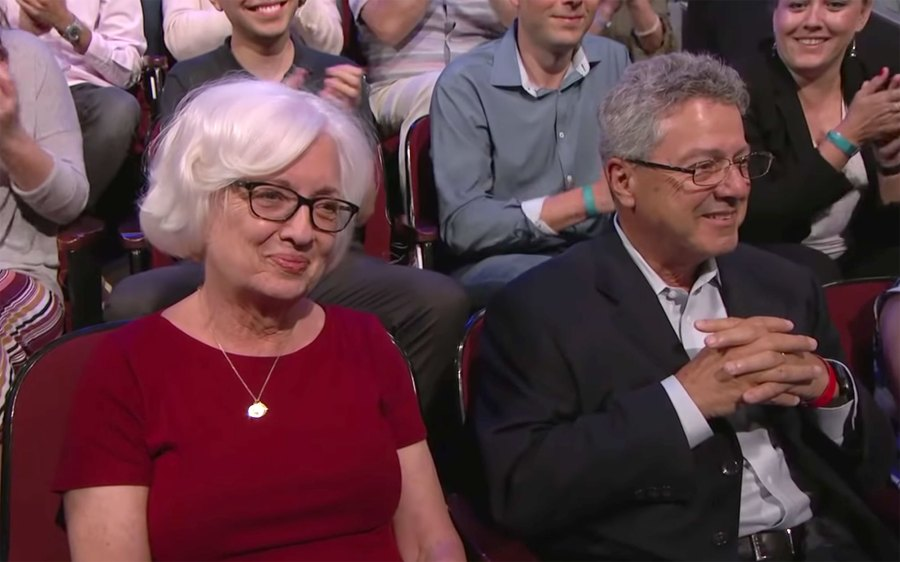 Parents of Milo Ventimiglia on 'Jimmy Kimmel Live'.