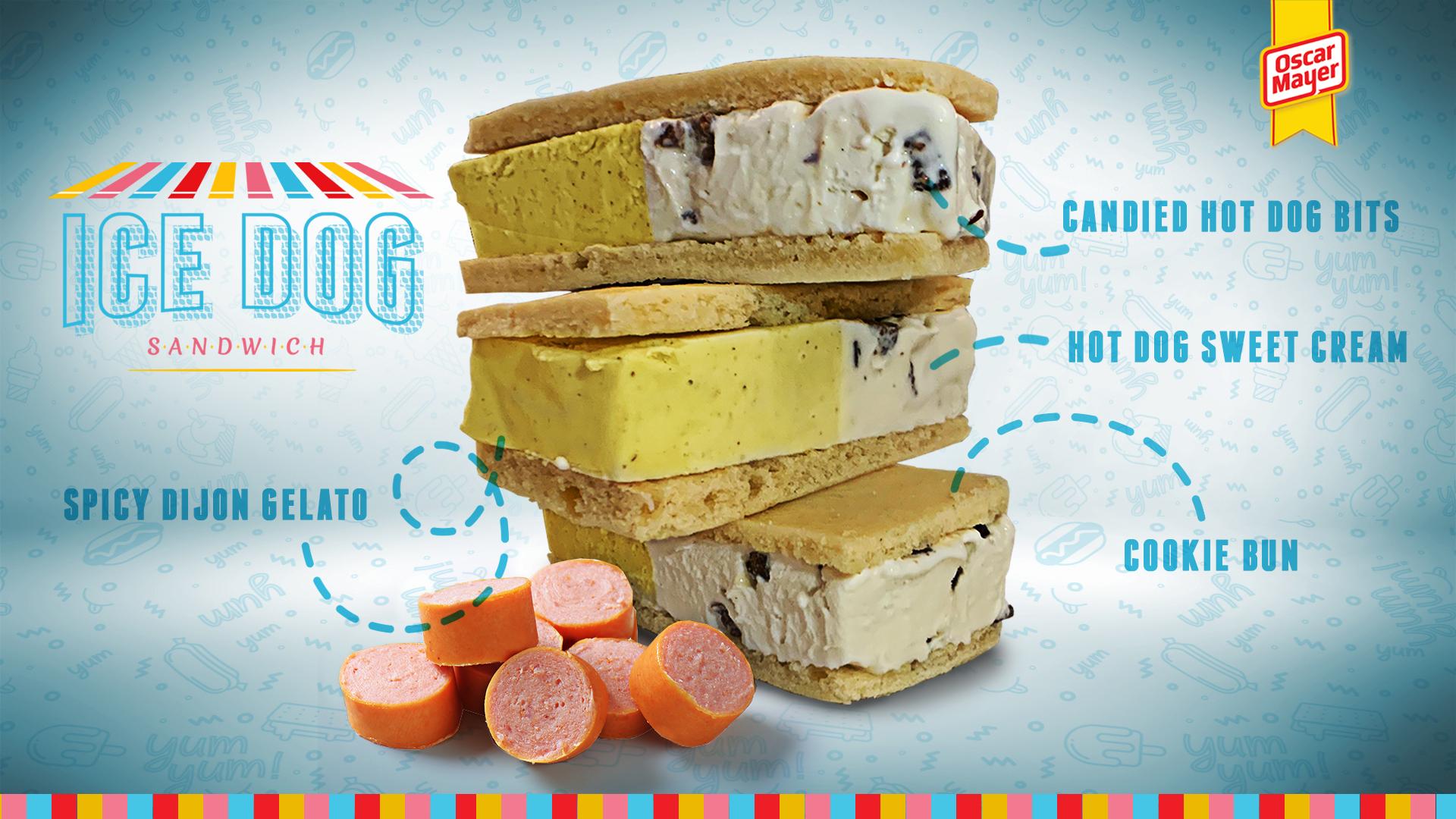 Oscar Mayer's Hot Dog Ice Cream