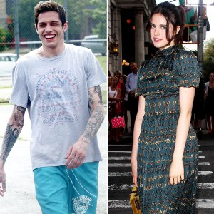 Pete Davidson Appears Great Mood With New Girlfriend Margaret Qualley Venice