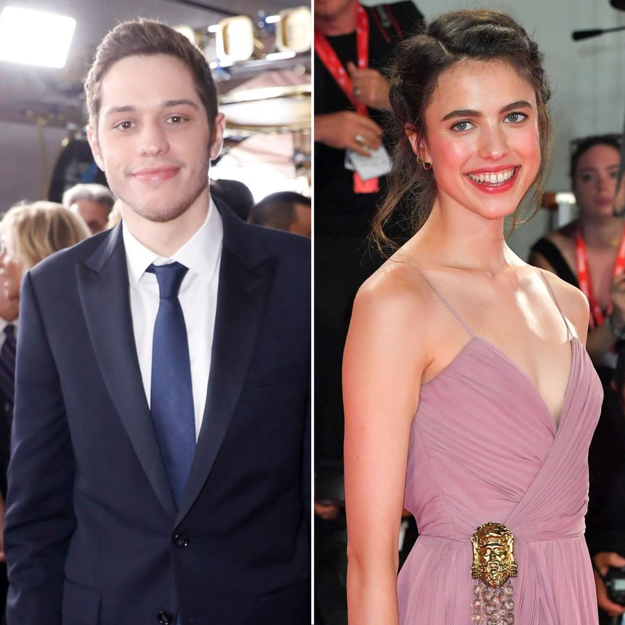 Pete Davidson and Margaret Qualley Attend Venice Film Festival Together