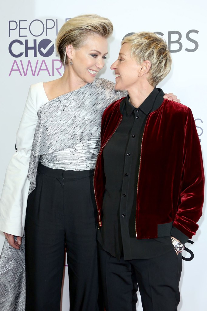 Ellen And Portia Wedding.Ellen Degeneres Posts Tribute To Portia De Rossi On Anniversary