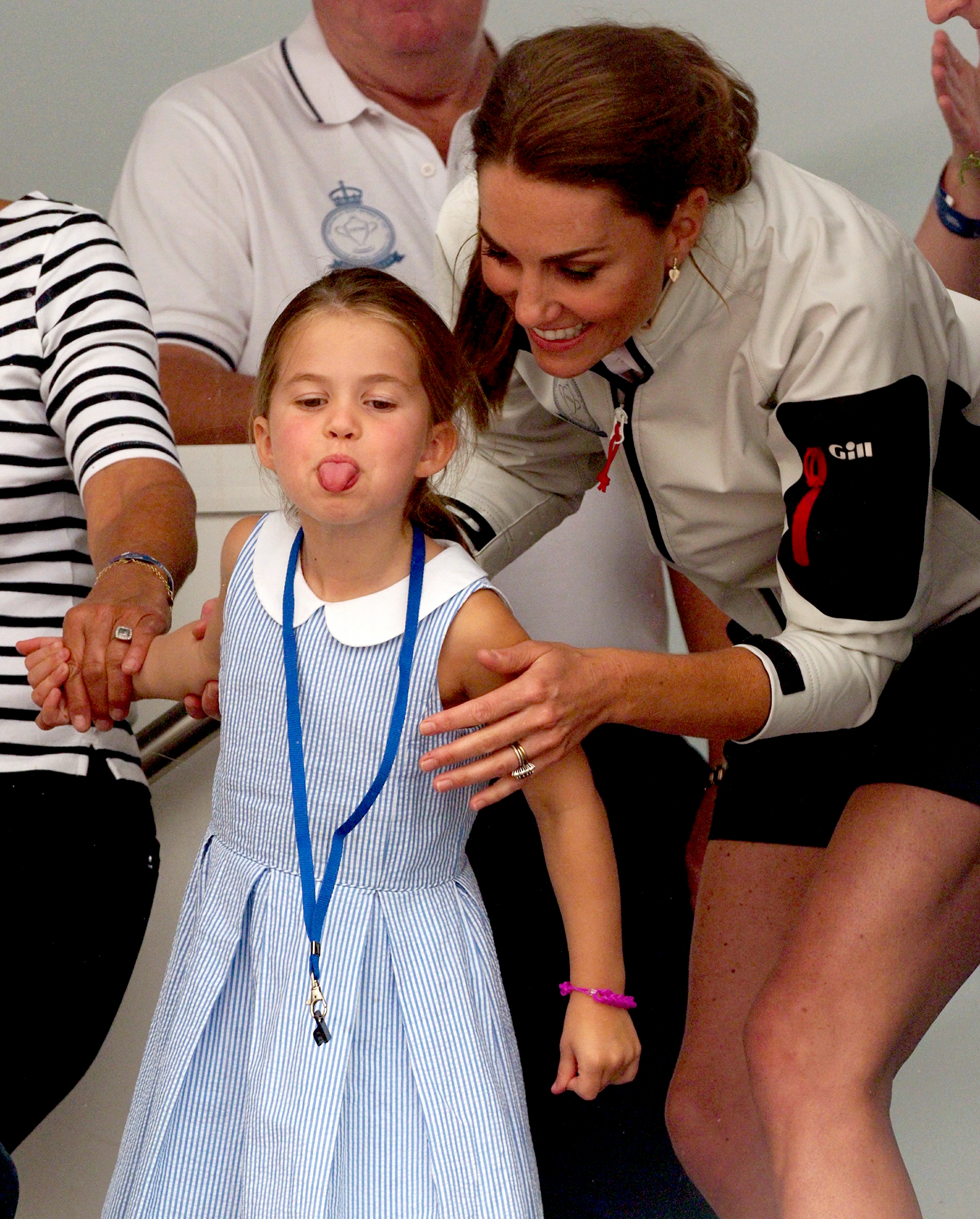 Princess-Charlotte-Stuck-Her-Tongue-Out-at-Duchess-Kate-and-Prince-William's-Charity-Sailing-Race