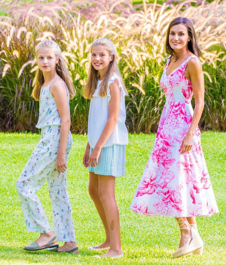 Queen Letizia Summer Outfit August 4, 2019