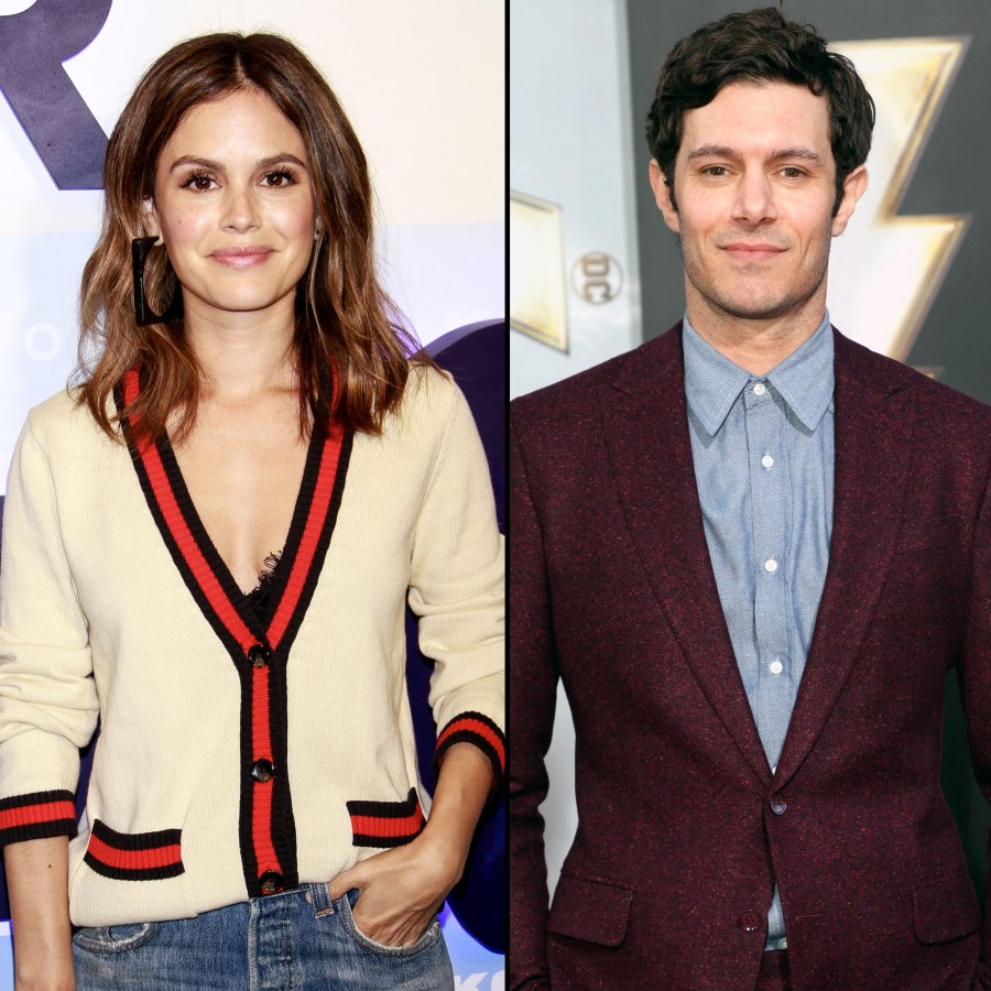 Rachel Bilson Runs Into 'The O.C.' Costar Adam Brody at Airport
