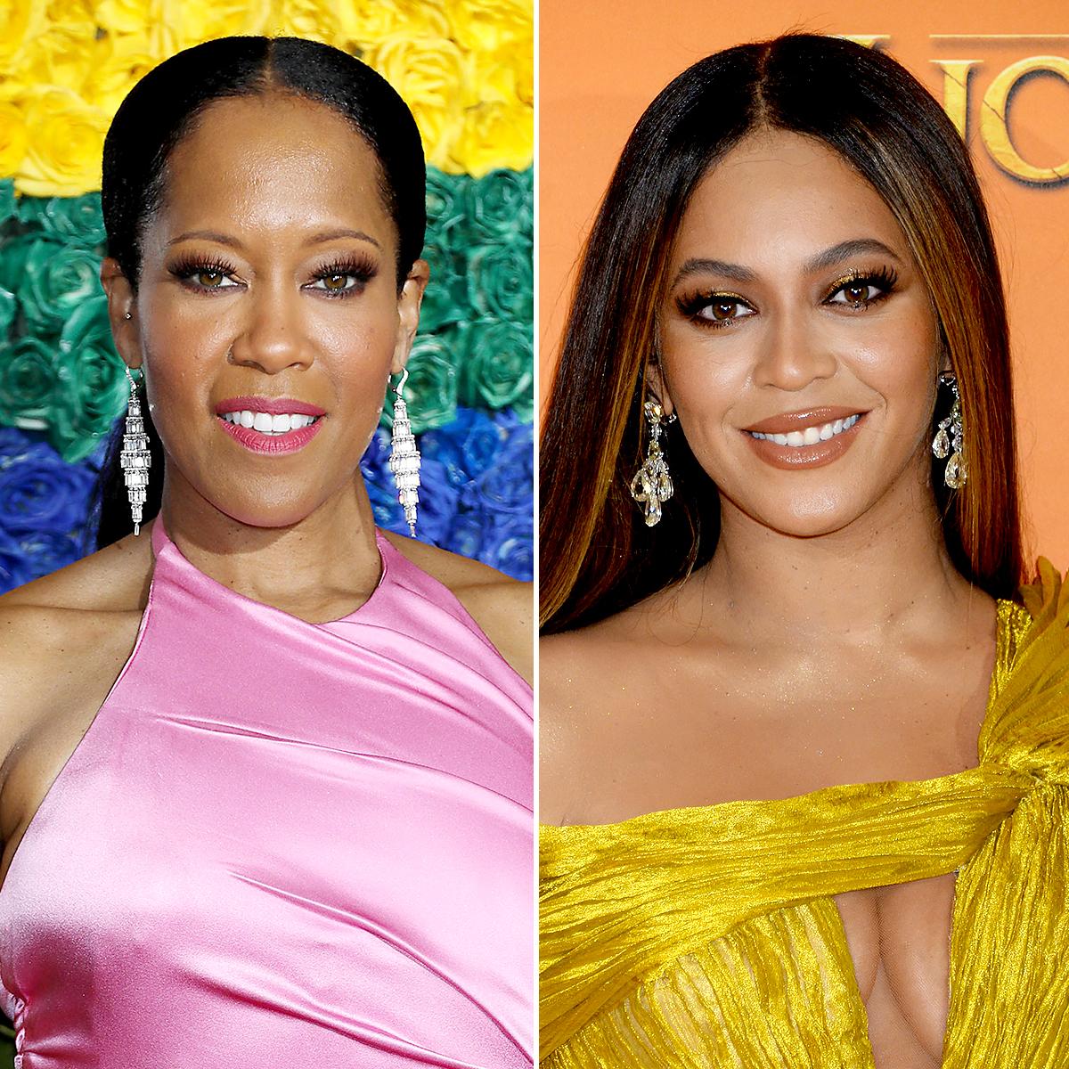 Regina King and Beyonce