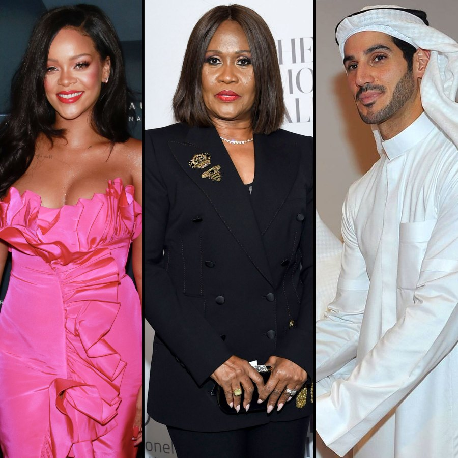 Rihanna, Monica Braithwaite and Hassan Jameel Go Out To Dinner Together