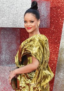 Rihanna Red Lipstick June 13, 2018