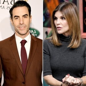 Sacha Baron Cohen Cracks Joke About Lori Loughlin Daughters Rowing Boat