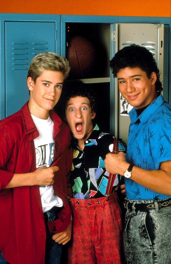 Saved By The Bell Mark Paul Gosselaar, Dustin Diamond, Mario Lopez