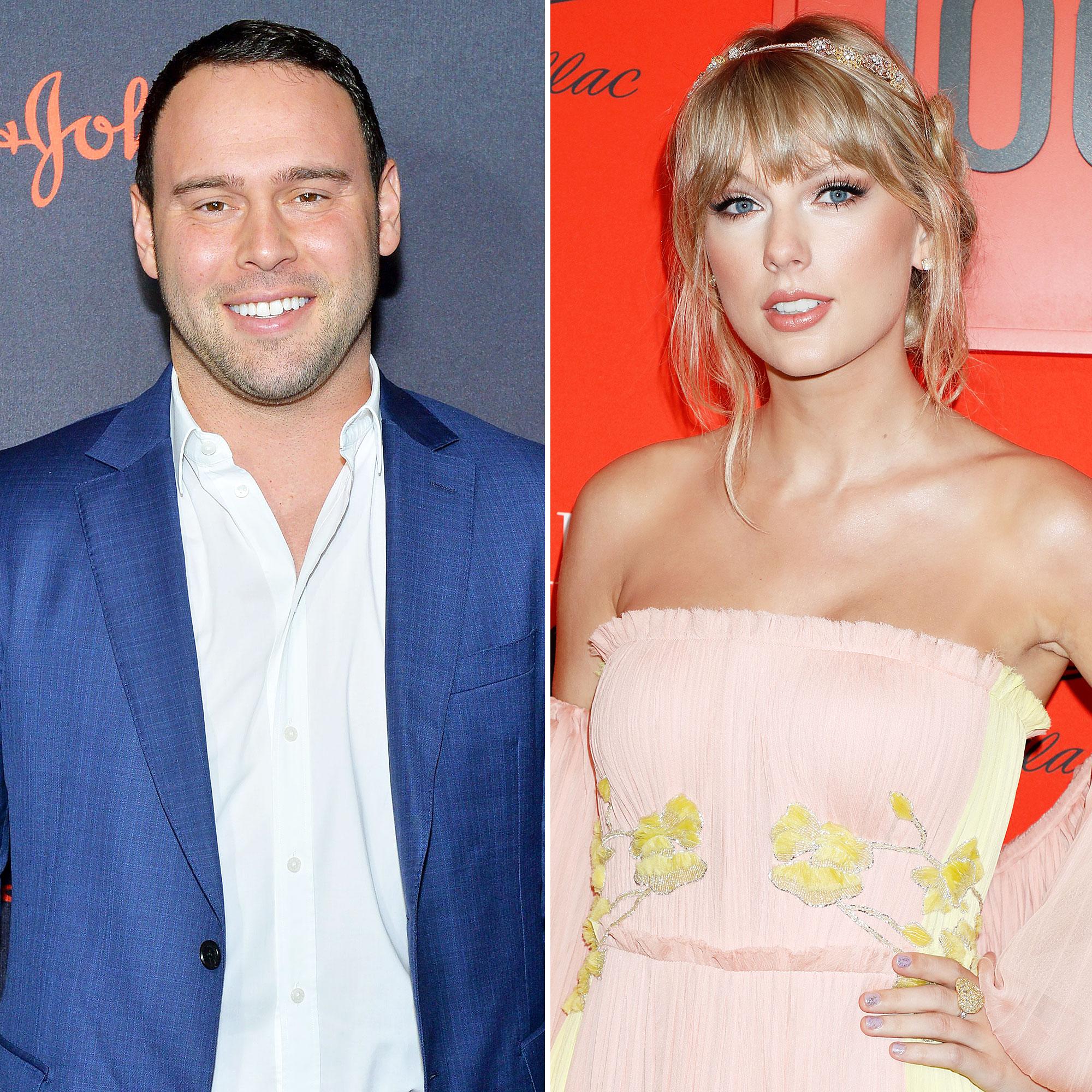 Scooter Braun Congratulates Taylor Swift on 'Brilliant' New Album 'Lover