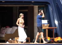 Scott Disick and Sofia Richie Fun in Capri