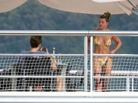 Scott Disick and Sofia Richie Fun in Capri