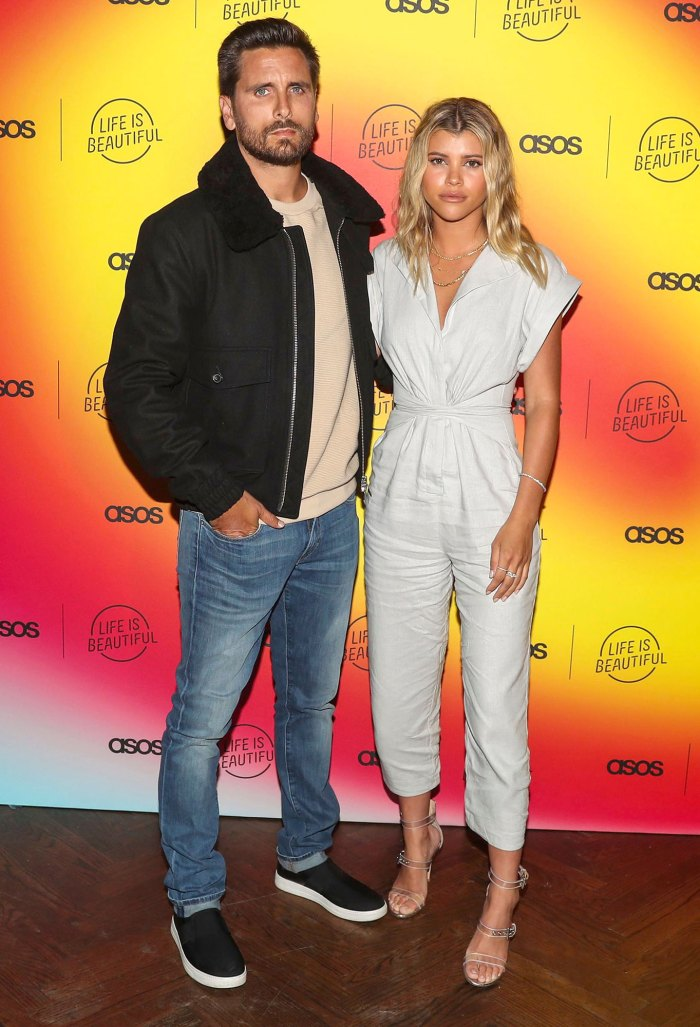 Scott Disick and Sofia Richie Unbelievable Support