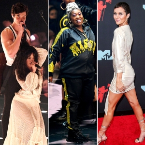 Shawn Camila Missy Alyson Stoner Watch the Most Memorable Moments VMAs 2019