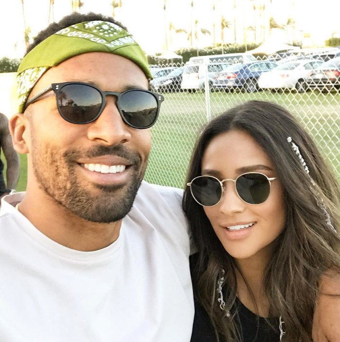 Shay Mitchell and Matte Babel Instagram Selfie Reveal Due Date