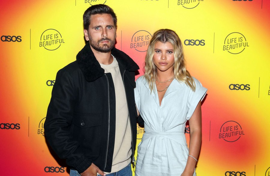Sofia Richie Posts 'Staycation' Photo With Scott Disick in a Bathtub
