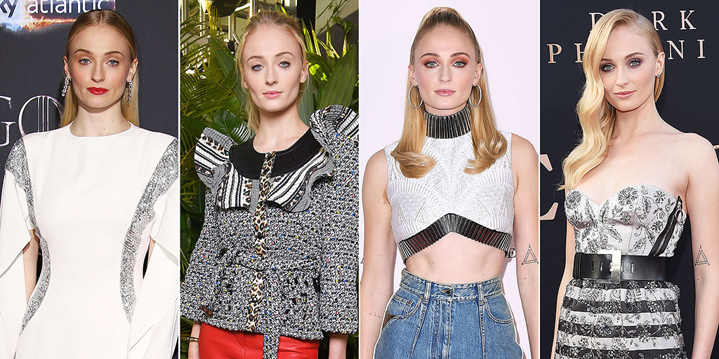Sophie Turner Is a Standout Style Star in Louis Vuitton: See Her 10 Top Red Carpet Looks