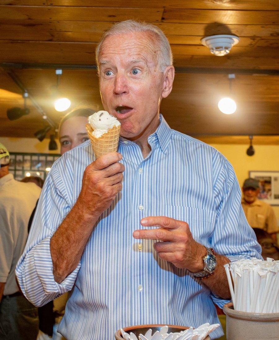 Stars Scream For Ice Cream Joe Biden