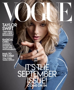Taylor Swift Vogue September Issue