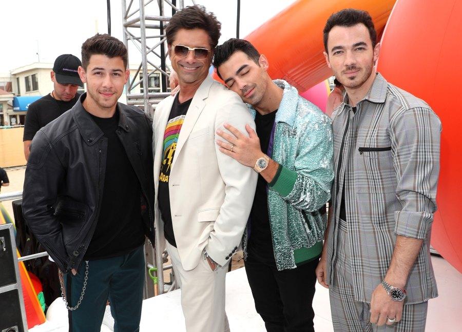 Teen Choice Awards Inside Moments Jonas Brothers John Stamos