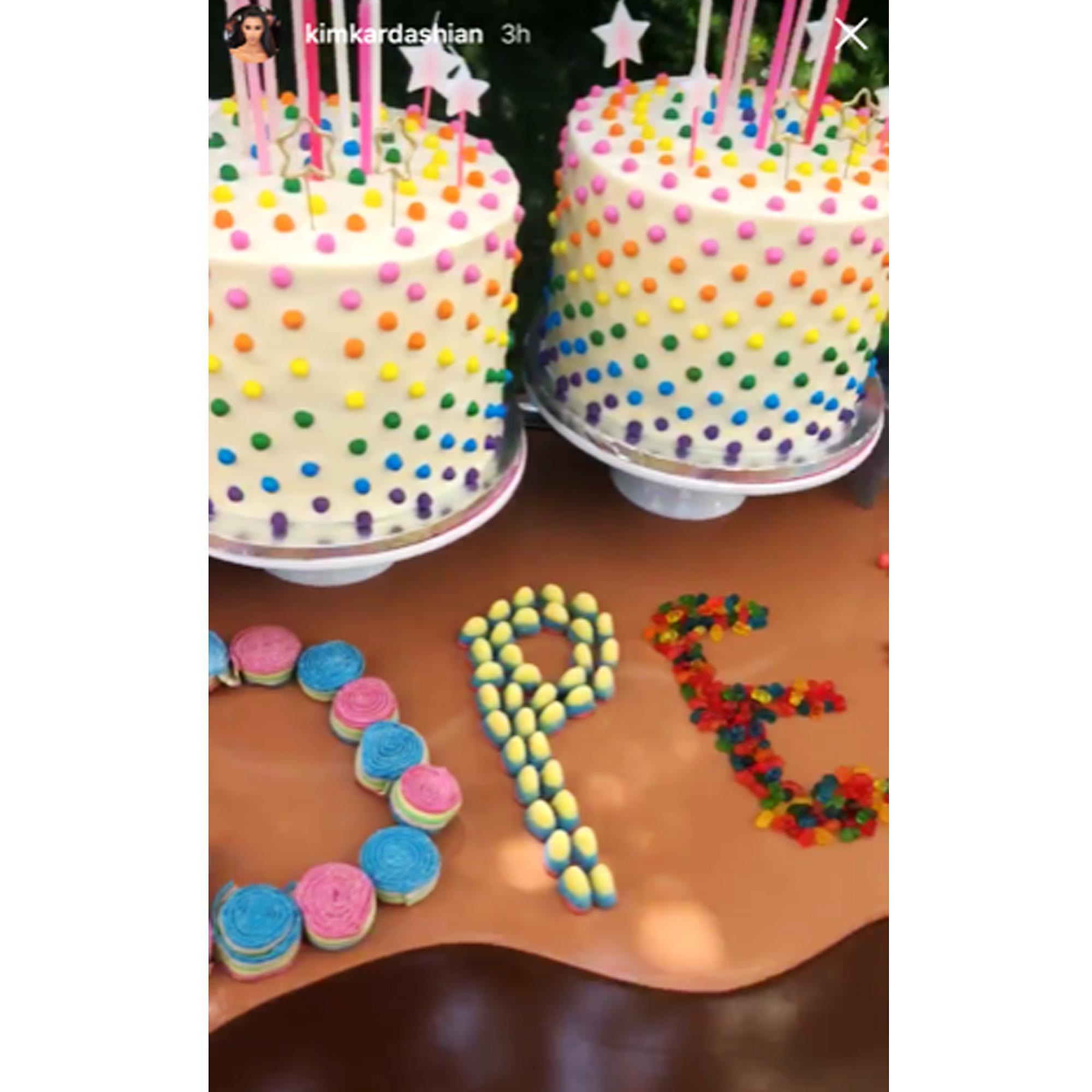 Surprising See The Kardashian Familys Best Cakes Photos Personalised Birthday Cards Sponlily Jamesorg