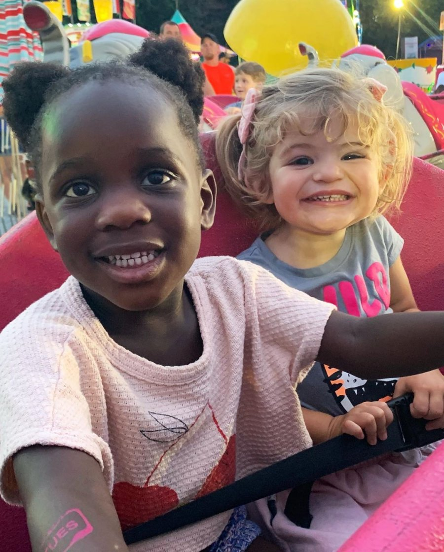 Thomas Rhett and Wife Lauren Akins Enjoy Fair Date With Daughters After Pregnancy Announcement