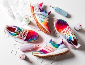 Adidas x Nice Kicks Tie-Dye Sneakers